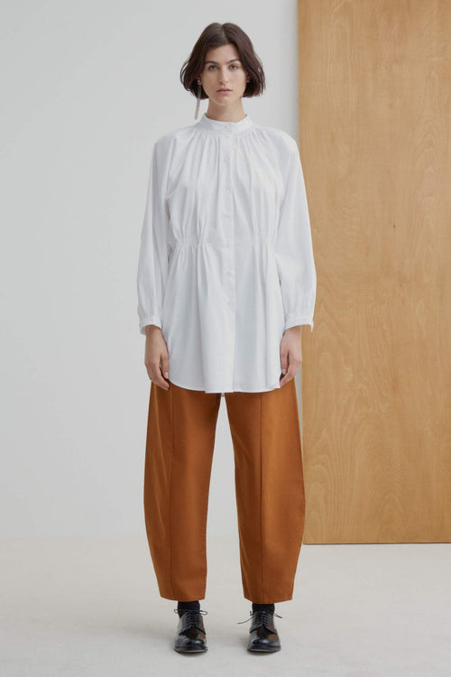 Kowtow Observer Shirt White | Organic Cotton | Ethically Made Shirts