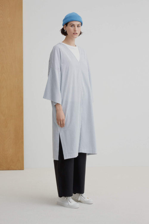 Kowtow Project Dress - Stripe | Ethical Dresses Australia | Organic
