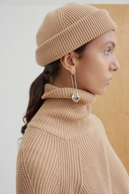 Kowtow Spellbound Beanie Camel | Organic Cotton Beanie | Winter Hats