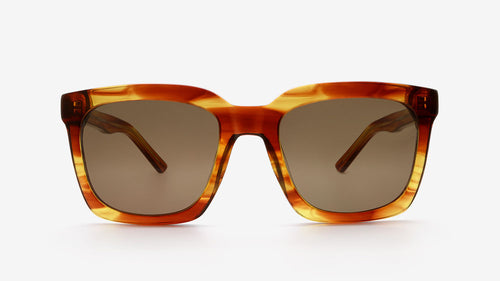 THABO Honey Striped Tortoiseshell | Ethical & Sustainable Sunglasses Australia | ECO.MONO | Melbourne