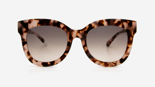 ZURI Pink Tortoiseshell | Ethical & Sustainable Sunglasses Australia | ECOMONO | Melbourne