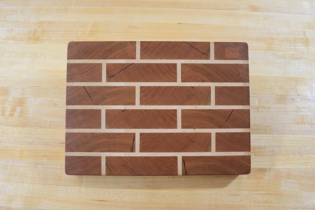 Big bricks End grain
