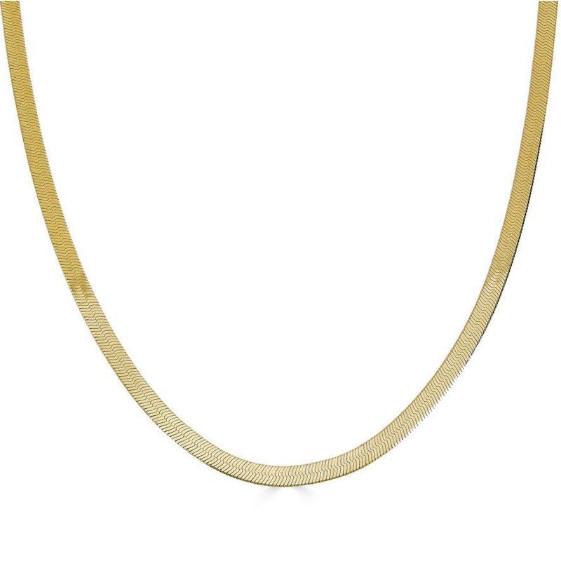 Classic Herringbone Necklace