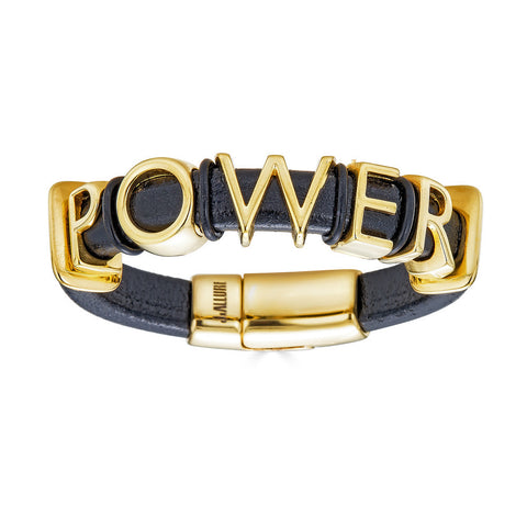 Power Leather Bracelet