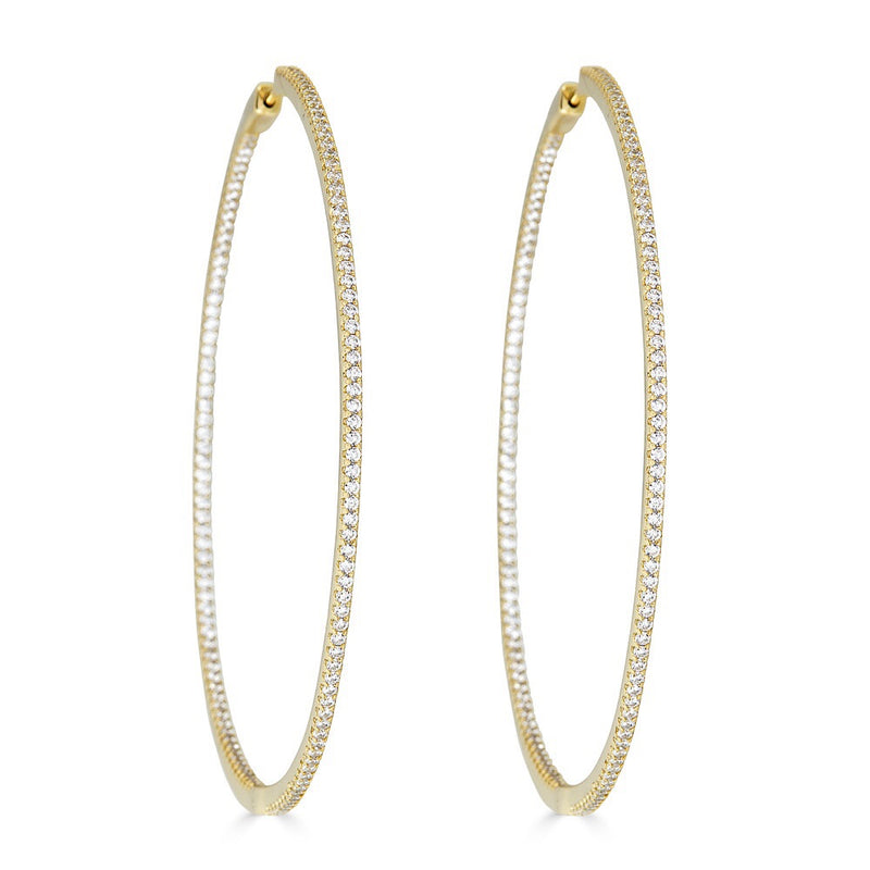 Goldie Posh Hoop Earrings