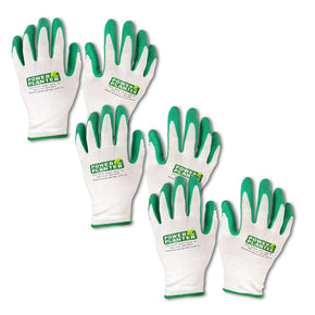3 Pairs of Machine washable GARDENING GLOVES