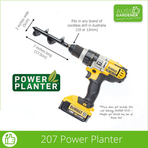 Power Planter 207 for Seedlings Dimensions