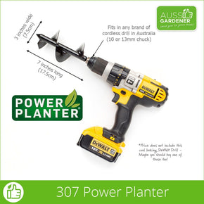 Power Planter 307 dimensions Australia stock USA made