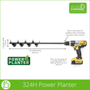 Power Planter 324 Dimensions How big is it?