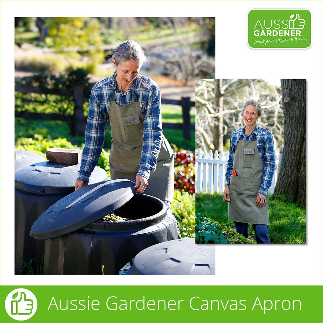Aussie Gardener Canvas Apron - Now Back in Stock!