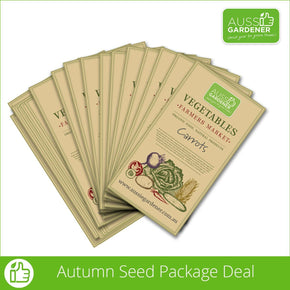 Autumn/Winter Seed Pack Kit (20 seed packs)