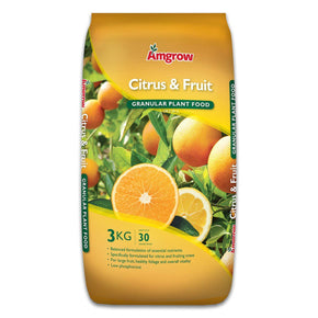 Citrus & Fruit Granular Plant Food Amgrow 3Kg