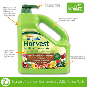 HARVEST ORGANIX PUMP PACK 2.5L