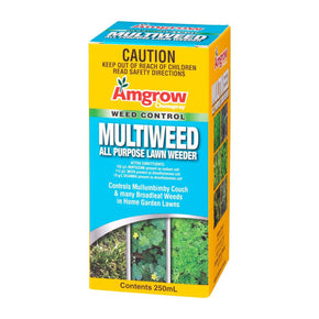 MULTIWEED ALL PURPOSE LAWN WEEDER 250ml