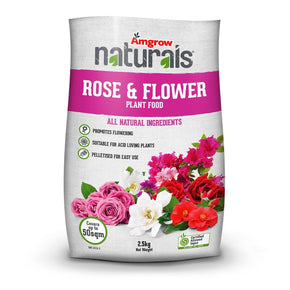 Amgrow Naturals Rose & Flower Fertiliser 2.5Kg