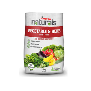Amgrow Naturals Vegetable & Herb 2.5Kg
