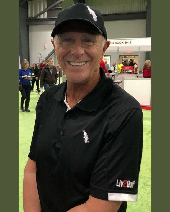 Dave Kallil is wearing our new Liv2Golf to the Ottawa-Gatineau GOLFEXPO - Ottawa Golf Expo.