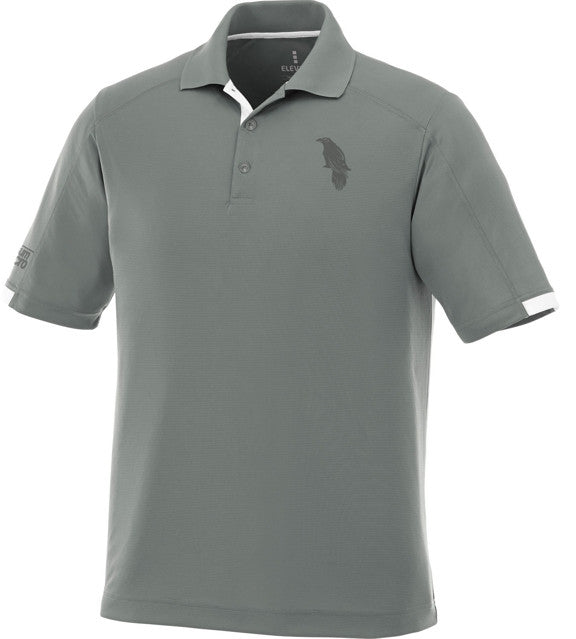 LonsumCRO Golf SwagLine Men's Golf Shirts in Grey and Deep Grey laser etched Details