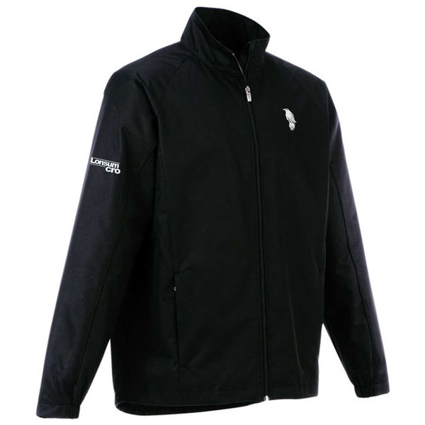 LonsumCRO Men's Long Sleeve Jacket in Black and white