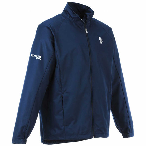 LonsumCRO Men's Long Sleeve Jacket in Navy Blue and white