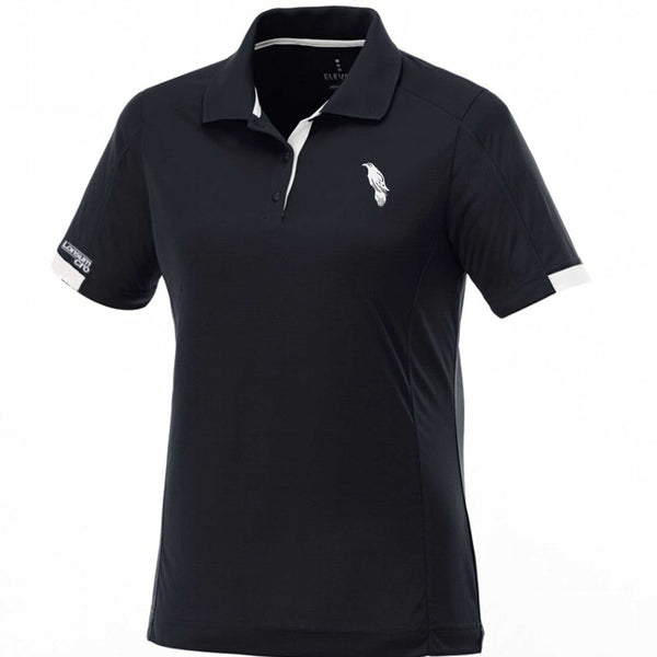 LonsumCRO Women's Golf Shirt  in Black