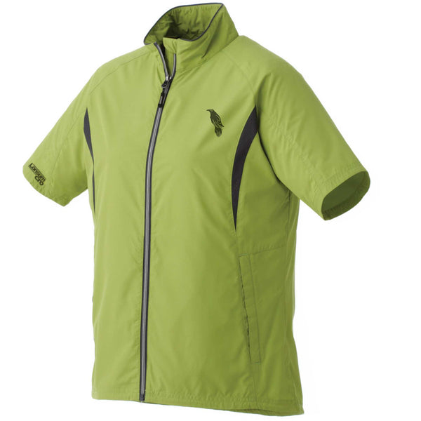 LonsumCRO Women's Full Zipper WindShirts in Green