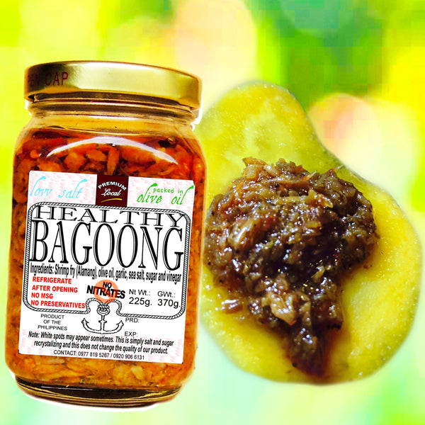 Healthy Bagoong, 8 oz. (Regular)