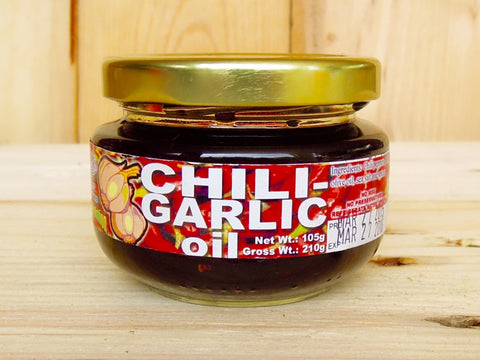 Chili Garlic Olive Oil, 4 oz.