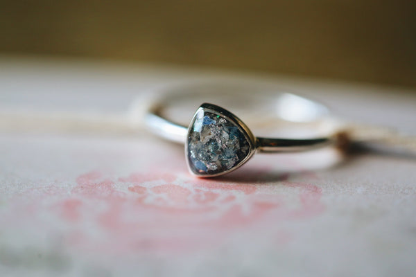Trillion keepsake ring