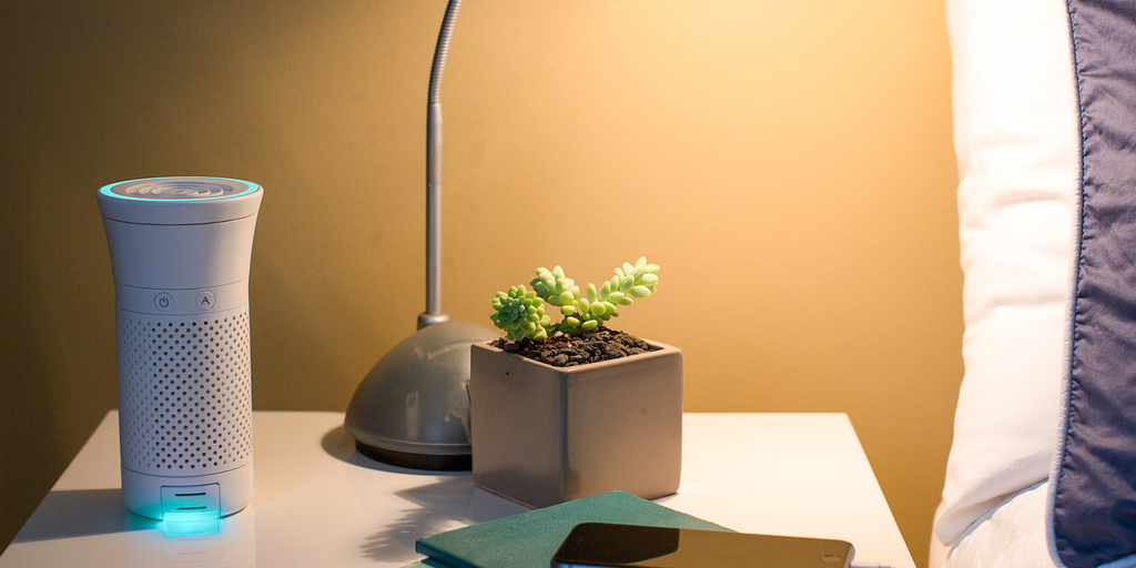 Image of Wynd Plus on Nightstand