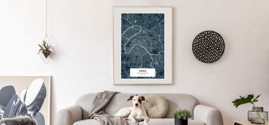 Craft & Oak's City Map Posters