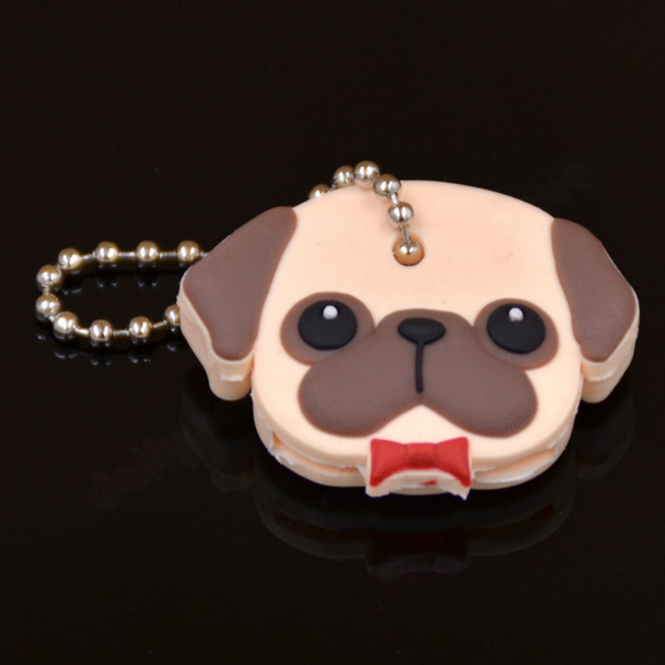 Pug key ring cover - pretty pug pics