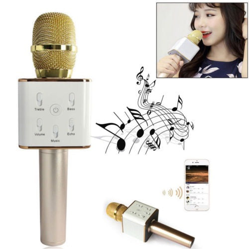 Q7 Bluetooth Microphone With Speaker