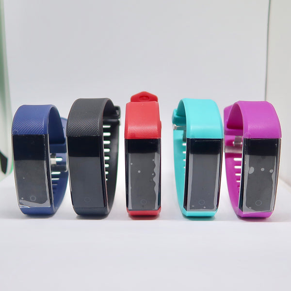 Fitness Tracker OLED Touch Screen with Heart Rate Monitor