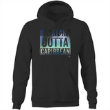 Straight Outta Caribbean Pocket Hoodie Sweatshirt