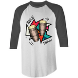 Bele Drum 3/4 Sleeve T-Shirt