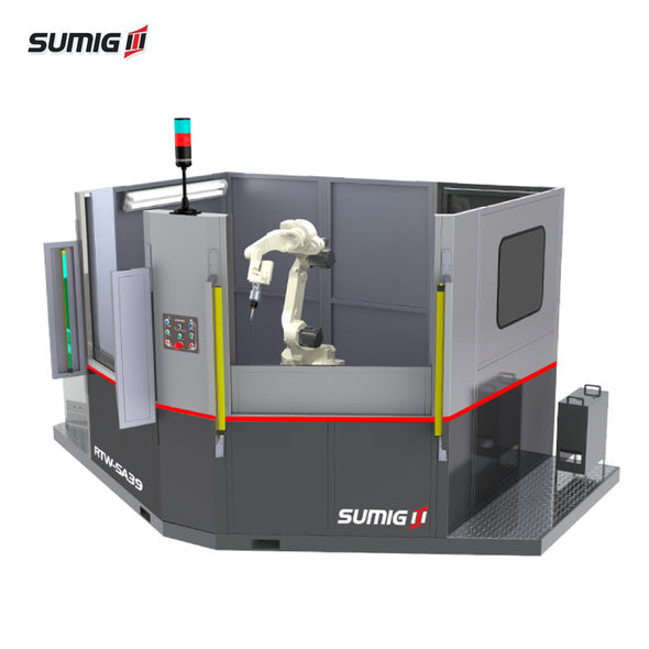 RTW-SA39 Angled Dual Station Robotic Cell - Sumig USA Corporation