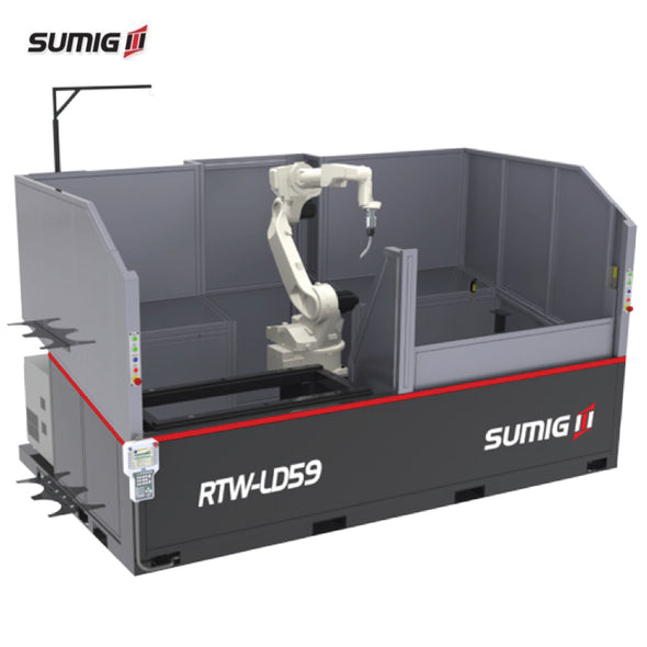 RTW-LD59 Dual Station Robotic Cell - Sumig USA Premium Welding Equipment Supplies and Robotics