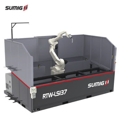RTW-LS137 Single Station Welding Cell - Sumig USA Premium Welding Equipment Supplies and Robotics