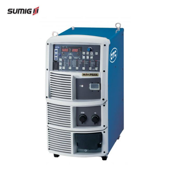 OTC Welbee WB-P500L Pulse/Low-Spatter Mode Weld Power Source - Sumig USA Premium Welding Equipment Supplies and Robotics