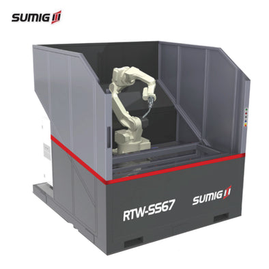 RTW-SS67 Compact Single Station Welding Cell - Sumig USA Premium Welding Equipment Supplies and Robotics