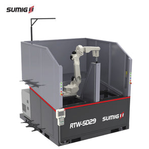RTW-SD29 Compact Dual Station Robotic Cell - Sumig USA Premium Welding Equipment Supplies and Robotics