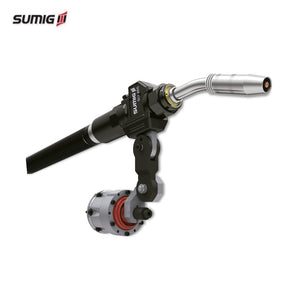 SU 465 - Robotic MIG/GMAW Air or Water Cooled Torch for Robots with External Cabling - Sumig USA Corporation