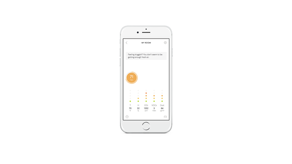 AWAIR, CO2 & Air quality Monitoring to your smart phone - Efficiency Matrix