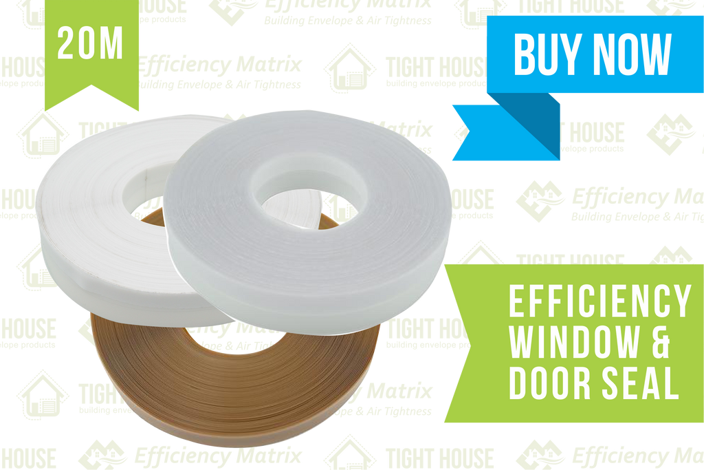 Efficiency Seal Door and Window Seal (20 Metres)
