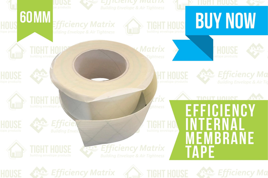 Tight House Air Barrier (AB) Tape 60mm (25m per roll) for Building Wraps or Membranes