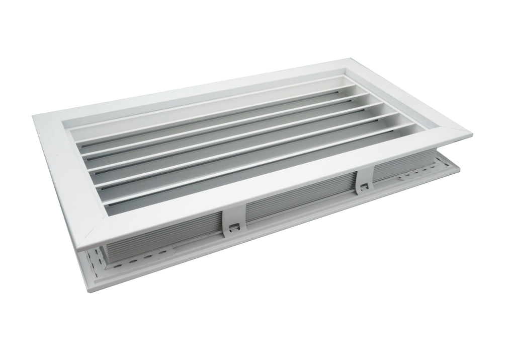 Door Vent - White - Improve bathroom and lavatory ventilation - Tight House