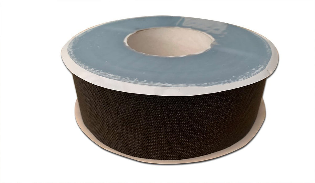 Black External Wall Wrap Tape 60mm (25 metres per roll) Tight House