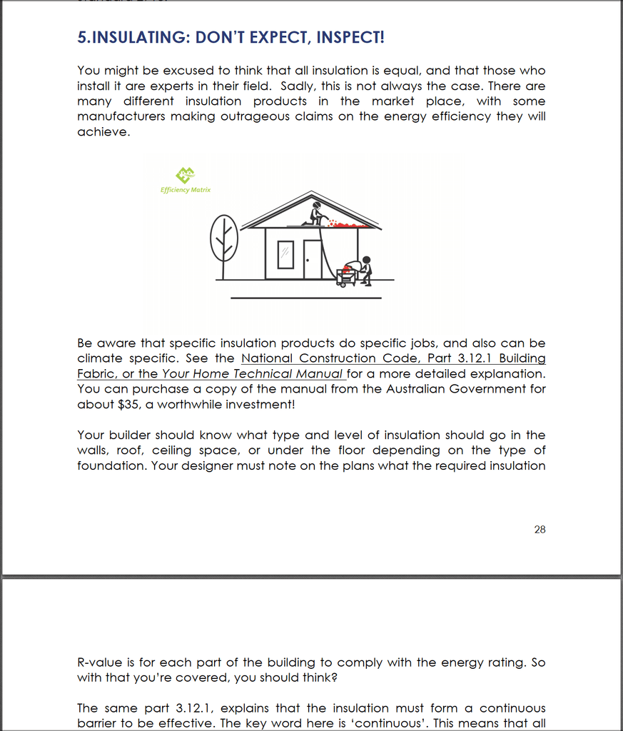 The Inside Story V2 an eBOOK about building performance - Tight House
