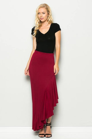 Sassy Side Maxi Skirt, Skirts